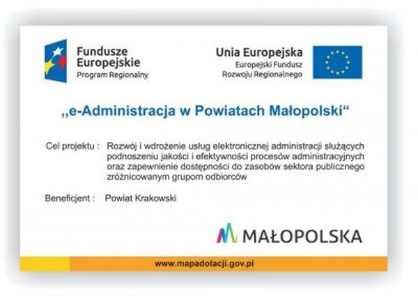 Plakat eAdministracja